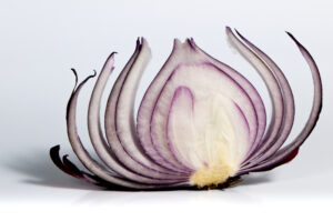 Textual sermon outline has an onion layered approach